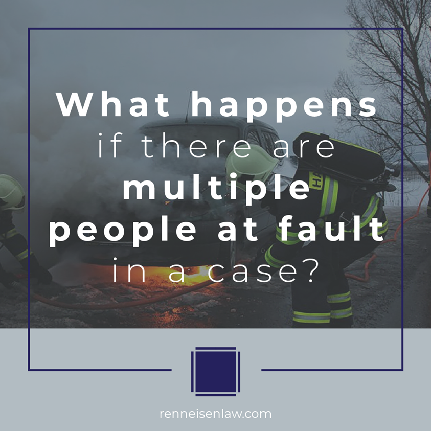 Read more about the article What happens if there are multiple people at fault in a case?