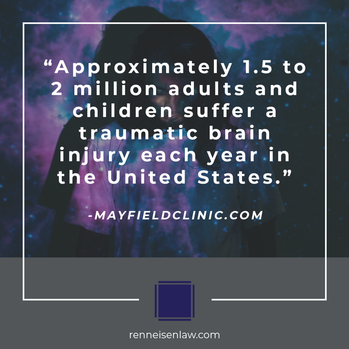 Read more about the article Approximately 1.5 to 2 million adults and children suffer a traumatic  brain injury each year in the United States