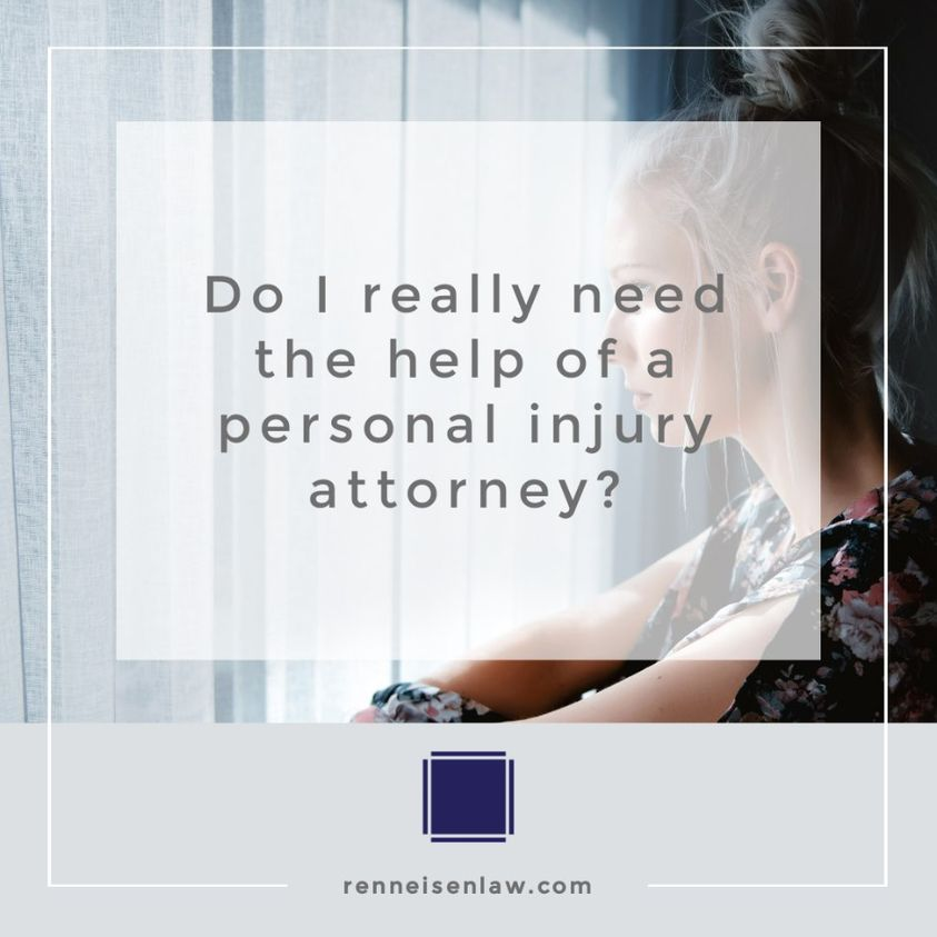 Read more about the article Do I really need the help of a personal injury attorney?