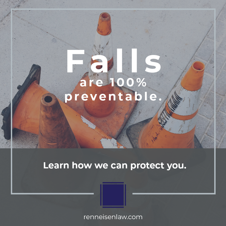 Read more about the article Falls are 100% preventable.