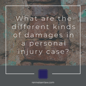 Read more about the article What are the different kinds of damages in a personal injury case?