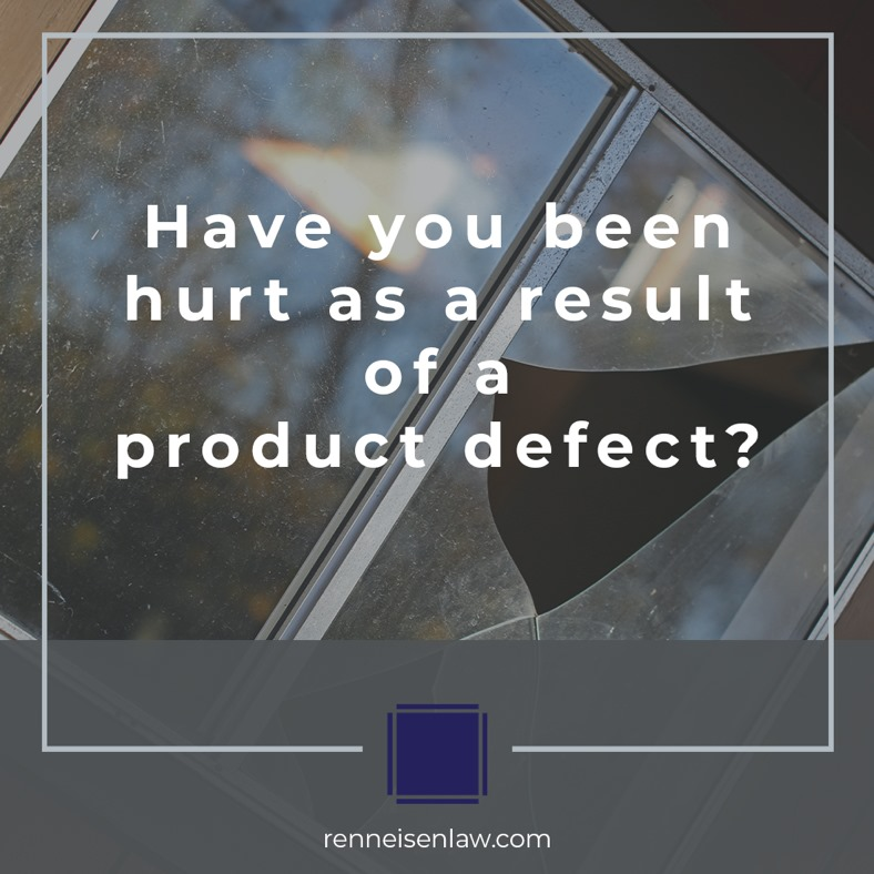 Read more about the article Have you been hurt as a result of a product defect?